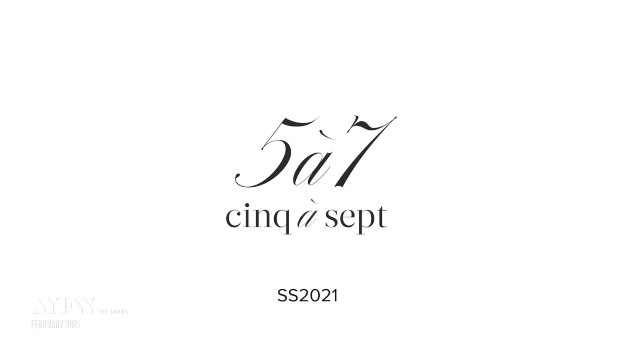 CINQ À SEPT- NYFW A/W 2021