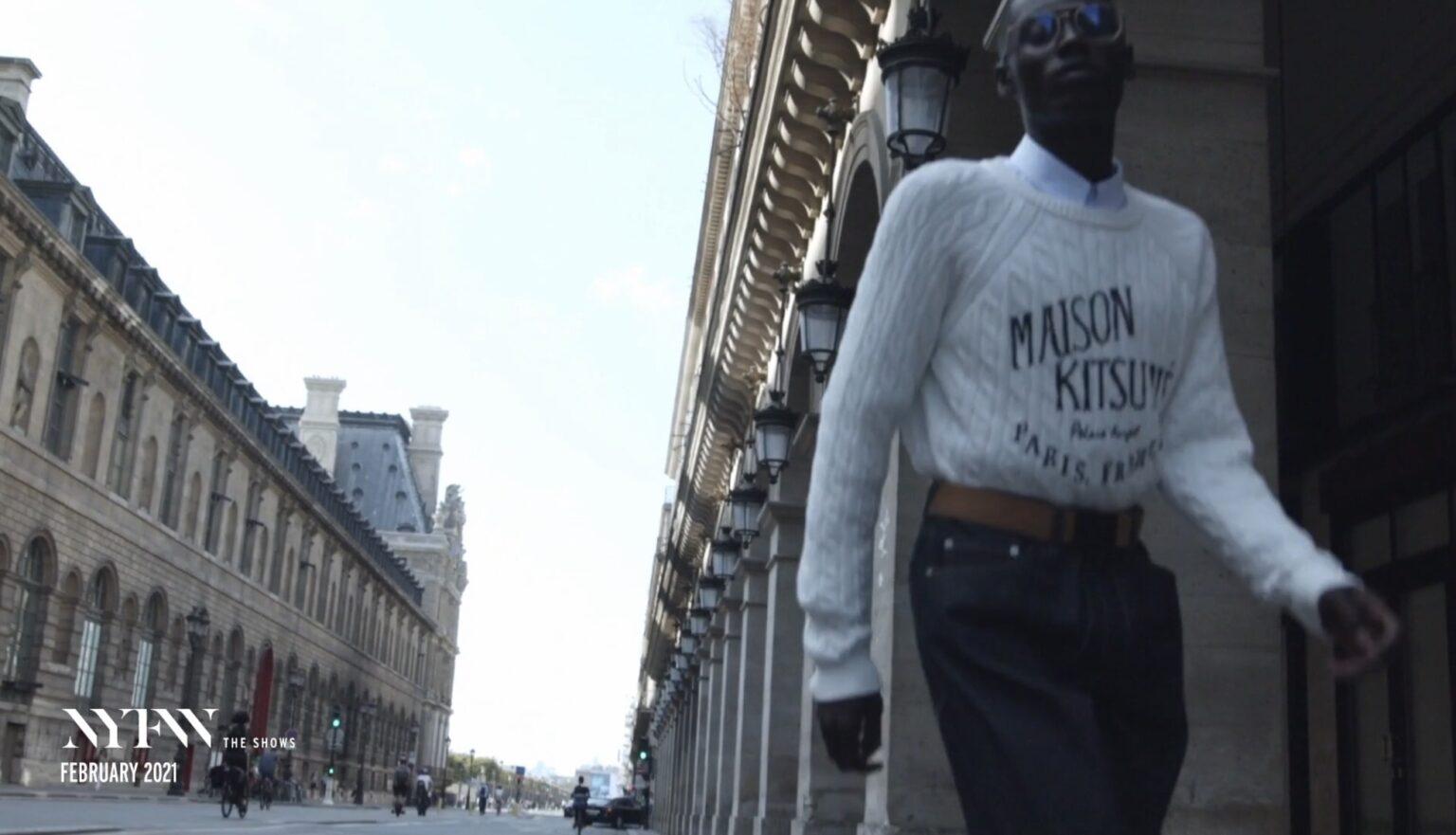 MAISON KITSUNE - NYFW A/W 2021